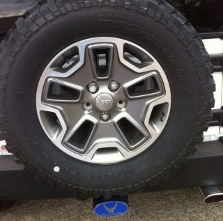 Wheels Tires Rims Wrangler JK BF Goodrich A T Brand New 2013
