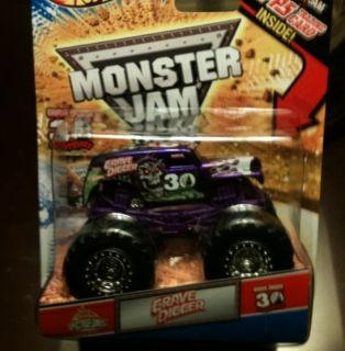 2012 Hot Wheels Monster Jam Grave Digger 30 Anniversary Spectraflames