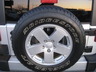 18 2012 JEEP WRANGLER SAHARA X 5 SPOKE FACTORY WHEELS RIMS AND TIRES