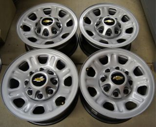 Silverado GMC Sierra HD 2500 3500 8 Lug 18 Factory wheels Rims