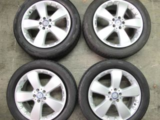Mercedes Wheels ML350 2009 09 19 Silver 5 Spoke Factory Rims Set of 4