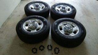 Ford F250 Super Duty Wheels and Tires 2010 2011 2012 8 Lug *
