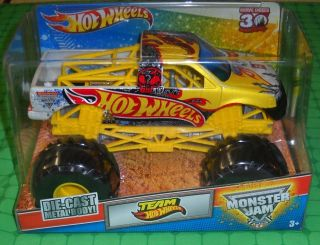 2012 Hot Wheels Monster Jam 1 24 Scale Team Hot Wheels New Release