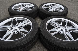 Ford Edge Chrome Wheels Tires Factory 2006 2007 2008 2009 2010