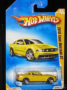 Hot Wheels 2010 Ford Mustang GT 2009 New Models