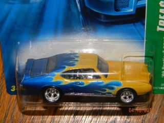 2007~SUPER~ 69 PONTIAC GTO ~ #1/12 ~ HOT WHEELS~TREASURE HUNT~T~07