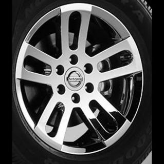 20 2009 2010 Nissan Titan Chrome Accessory Wheels Set of 4 New