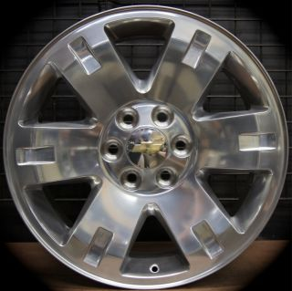 New GMC Sierra Yukon XL Polished 20 Wheels Rims Chevy Silverado Tahoe