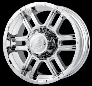 20 x 9 ion Alloy 179 Chrome Rims Ford F250 F350 Super Duty Excursion