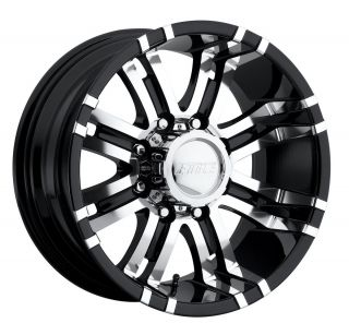 CPP Eagle 197 wheels rims, 17x9, fits CHEVY GMC SILVERADO 2500 2500HD