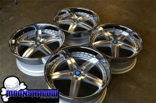 BEYERN WOLFF STAGGERED BMW WHEELS RIMS 22x9 5 22x10 5 7 SERIES 745 750
