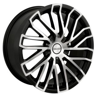 17 inch Touren TR4 Black Wheels Rims 5x112 Audi TTS Q5 Crossfire 57