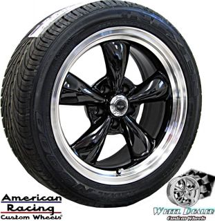 17 Black American Racing Wheels Tires Chevy Camaro Z28 SS V6 LT1 LS1