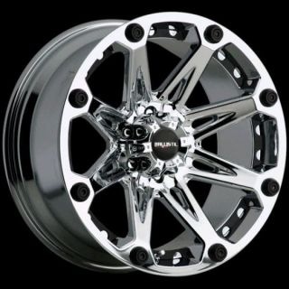 BALLISTIC 6X135 JESTER CHROME EXPEDITION 150 NAVIGATOR WHEELS RIMS