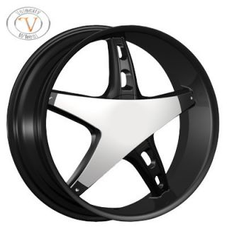 26 Velocity 930 Chrome Wheels Rims Tires Dodge Ram 1500 Durango Dekota