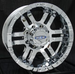 16 inch Chrome Wheels Rims Chevy HD Dodge 2500 8 Lug