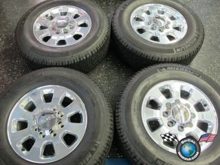 11 12 GMC Sierra Denali 2500 3500 Factory 18 Wheels Tires OEM Rims