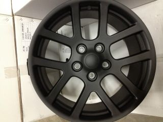 MATTE BLACK DODGE RAM SRT10 FACTORY WHEELS RIMS 5x5 5 DAKOTA DURANGO