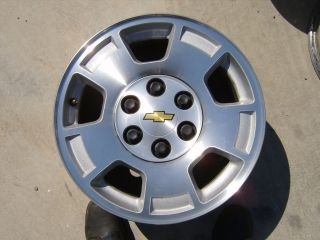 06 07 08 09 10 11 12 Chevy Silverado 17 Alloys Wheels Rims 1500 Tahoe