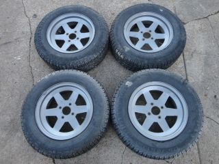 MGB MG TR6 TR5 Spitfire 13 Custom Wheels Rims with Tires