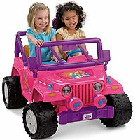Rechargeable 12 volt Battery Power Wheels Fisher Price Barbie Jeep