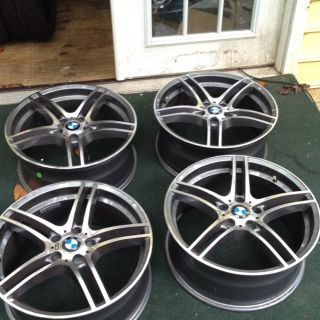 Bmw 19 Inch IS Style Wheels Set Of 4 Rims E36 E46 E92 325i 328i 335i