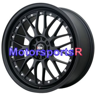 18 18x8 5 XXR 521 Flat Black Wheels Rims Lip 5x114 3 Toyota Solara
