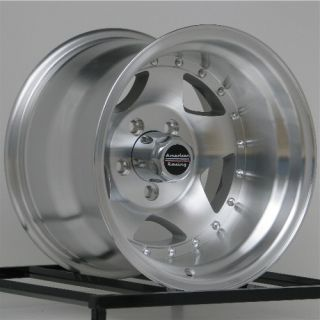 American Racing Wheels AR23 15 15x10 Alloy Wheels Ford Ranger TJ YJ