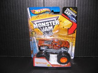 2013 Hot Wheels Monster Jam Brutus Monster Truck 1 64th Scale