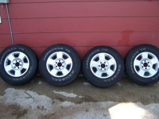 Ford F150 Stock Rims and Tires Used 17 inch Rims 31 inch Tires