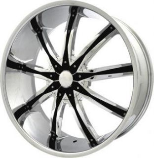 22 inch ELR20 Chrome Wheels Rims Mercury Grand Marquis