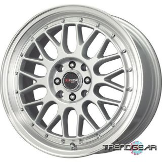 17 Drag DR44 4 Lug Wheels Rims Dodge Neon Lancer Galant