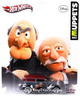 Culture Muppets Statler Waldorf 34 Ford Sedan Delivery Mint