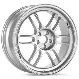 17 ENKEI RPF1 SILVER RIMS WHEELS HONDA S2000 S2k STAGGERED 17X8 & 17X9