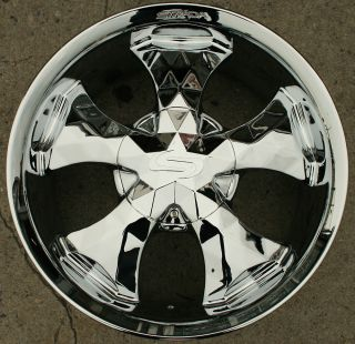 DIAMANTE 20 CHROME RIMS WHEELS CHEVROLET TRAILBLAZER 20 X 8 5 6H 36