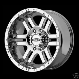 16 inch Chrome Moto Wheels Chevy HD Dodge H2 8 Lug Rims