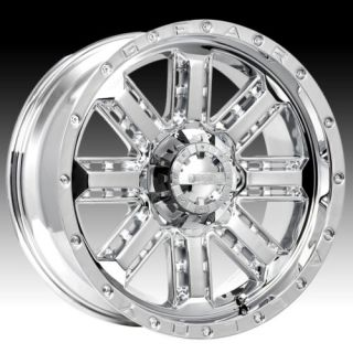 18 Wheels Rims Gear Alloy Nitro Chrome with 33x12 50x18 Nitto Mud