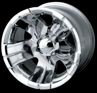 16 ion Wheels Rims Polished Ford F250 F350 Excursion