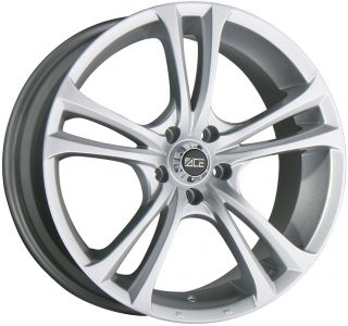 19 ACE MANTA METALLIC SILVER WHEELS RIMS HONDA CIVIC CRX ACURA INTEGRA