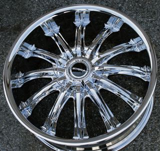 CORONA 18 CHROME RIMS WHEELS JAGUAR S Type S TYPE / 18 X 7.5 5H +40