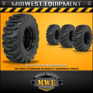 New 10x16 5 Solideal Bobcat Skid Steer Tires Wheels