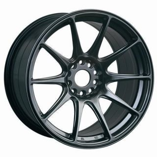 18 XXR 527 CHROMIUM BLACK RIMS WHEELS 18x9 75 20 5x114 3 EVO7 EVO 8