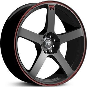 16 inch Motegi Racing MR116 Black Wheels Rims 4x100 Volkswagen Golf