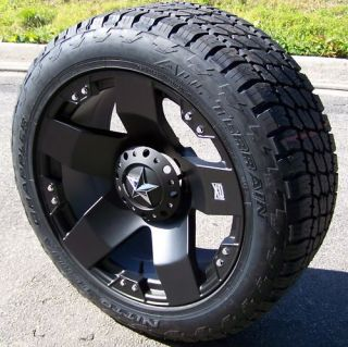18 XD Rockstar Wheels Nitto Terra Grappler Jeep JK