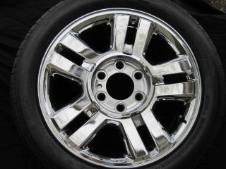 Ford F150 18 Polished Chrome Alloy Factory Rims Wheels