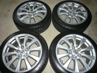 is250 is300 is350 17 inch Wheels Rims and Blizzak Snow Tires 225 45 17
