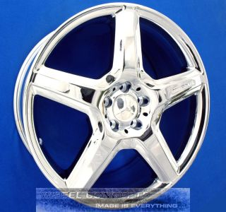 S550 S600 S63 S65 AMG 20 CHROME WHEELS RIMS CL550 CL600 CL 63 S 55 550
