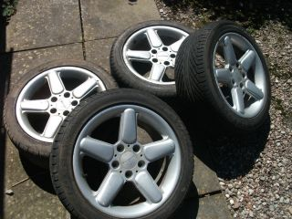 BMW 17 Alloy Wheels AC Schnitzer Replicas