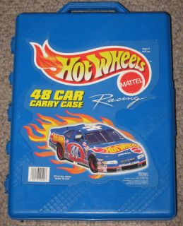 Hot Wheels Mattel 48 Car Carry Case 20020 Made N USA