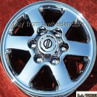 NEW 16 NISSAN FRONTIER OEM CHROME WHEELS RIMS XTERRA 62407 EXCHANGE